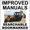 Thumbnail Collection of 2 files - Case 580N, 580SN-WT, 580SN, 590SN Tier 4 TLB Repair Service Manual & Operator Manual - DOWNLOAD