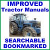 Thumbnail Collection of 2 files - Ford New Holland 8530 Tractor Service Repair Manual & Operators Owner Instruction Manual - IMPROVED - DOWNLOAD