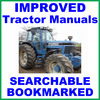 Thumbnail Collection of 2 files - Ford New Holland 8730 Tractor Service Repair Manual & Operators Owner Instruction Manual - IMPROVED - DOWNLOAD