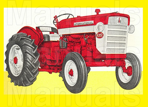 Pay for IH 240 Tractor Preventive Maintenance Manual - INSTANT DOWNLOAD