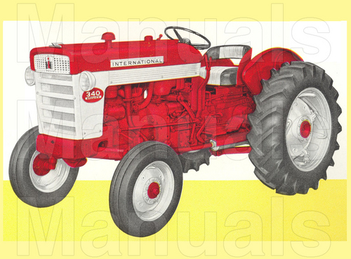 Pay for International Harvester IH 340 Tractor Preventive Maintenance Manual - INSTANT DOWNLOAD