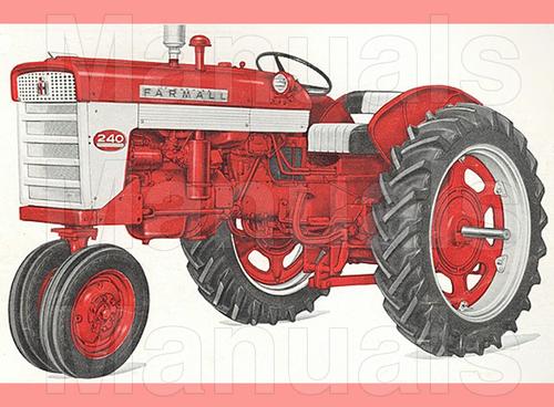 farmall 240 tractor preventive maintenance manual instant downloa rh tradebit com farmall h tractor manual farmall tractor manuals free