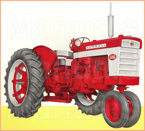 Pay for FARMALL 340 Tractor Preventive Maintenance Manual - INSTANT DOWNLOAD
