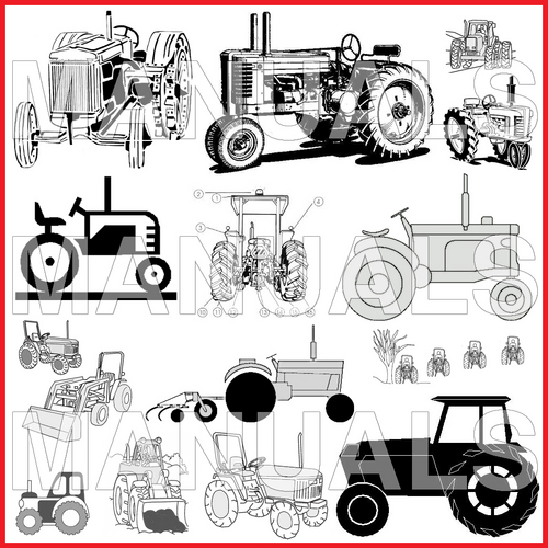 Pay for Massey-Ferguson MF Model 1001 Tractor Shop Workshop Repair Manual - DOWNLOAD