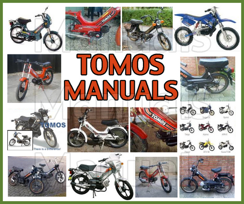 Tomos A35 Moped Workshop Service Repair Manual