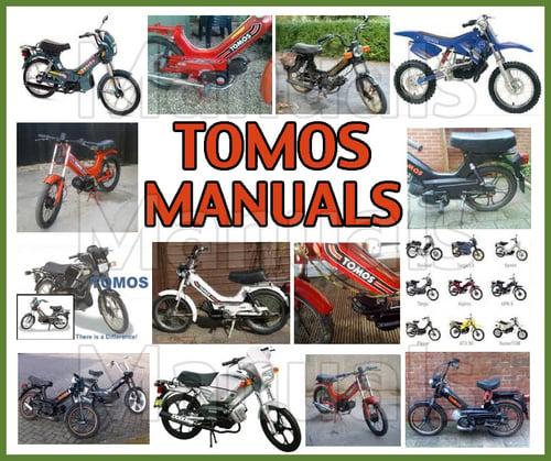 Tomos A35 Moped Workshop Service Repair Manual