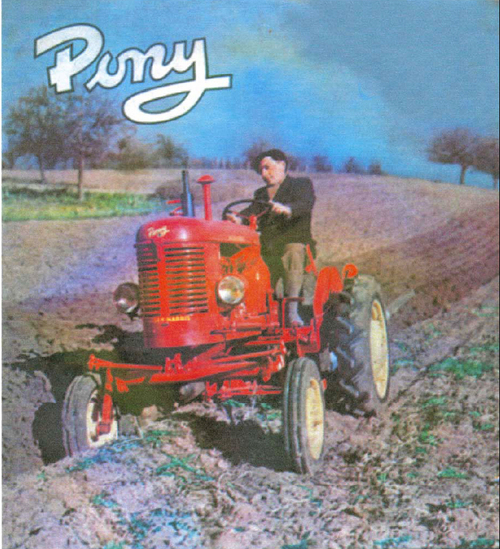 Massey Harris Pony Tractor Service Manual  Shop Manual