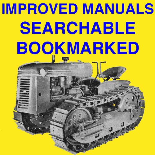 Oliver OC3 OC-3 Crawler Tractor Operator Owner Instruction Manual - on