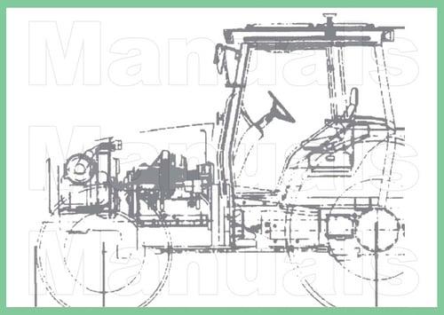 Oliver 1755  1855  1955 Tractor Service Repair Shop Manual