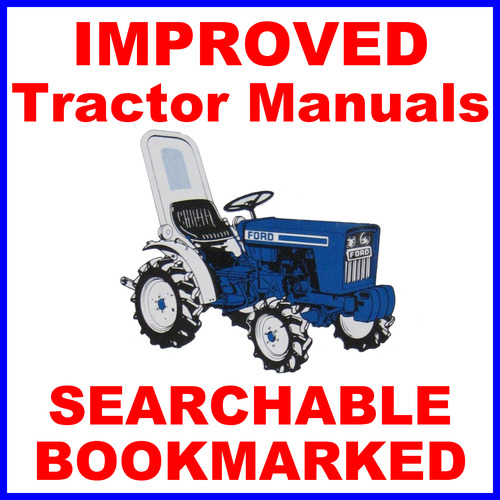 ford 1900 1910 tractor technical repair shop service repair manua rh tradebit com ford 1900 tractor service manual 1900 Series Ford Tractor Parts