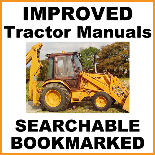 case 695sr series 2 backhoe loader parts catalog manual