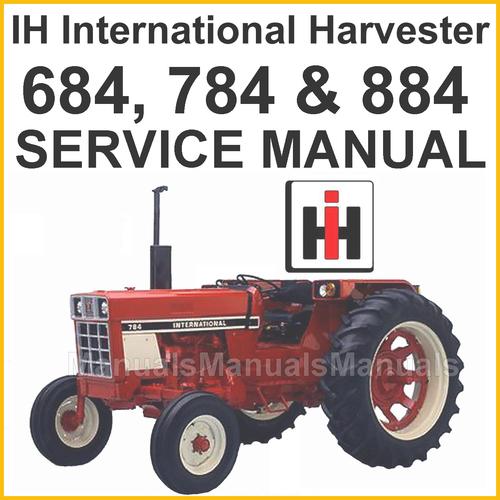 Repair Manuals For Tractors : Ih international tractors shop service