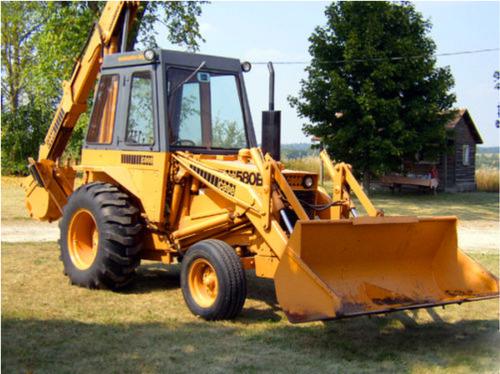 Case 580b Hydrostatic Drive Tractor Operators Owner Manual
