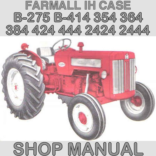 ih international harvester b 275 b 414 354 364 384 424 444 2424 244 rh tradebit com International B414 Model International B414 Specs