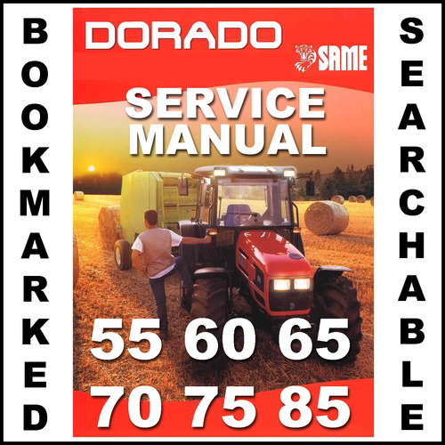 Pay for Same Dorado 55 60 65 70 75 85 Tractor Workshop Service Repair Manual - IMPROVED - DOWNLOAD