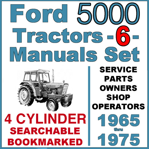 ford 5000 4 cylinder tractor service, parts, owners 6 ford 5000 tractor fender ford 5000 tractor wiring harness #12