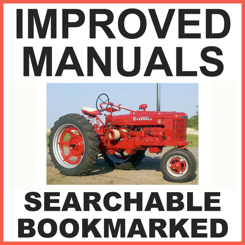 Ih farmall h hv tractor service workshop repair manual improved pay for ih farmall h hv tractor service workshop repair manual improved download fandeluxe Image collections