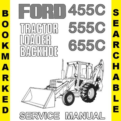 ford backhoe manuals online