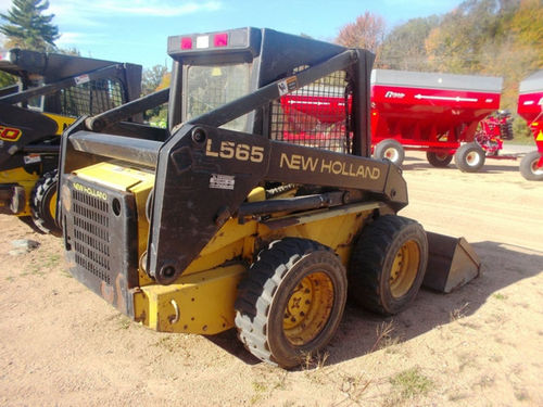 New Holland L565 LX565 LX665 Skid Steer Repair Service Manual - IMPROVED -  DOWNLOAD