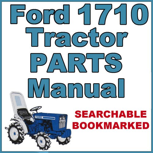 pay for ford 1710 compact tractor illustrated parts list manual catalog -  improved - download