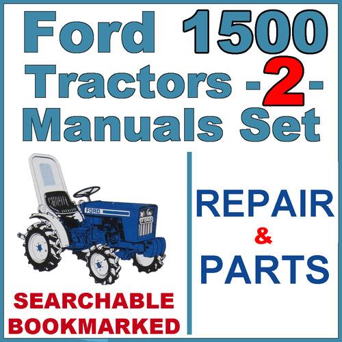Ford 1500 Tractor Service  U0026 Parts Catalog Manual