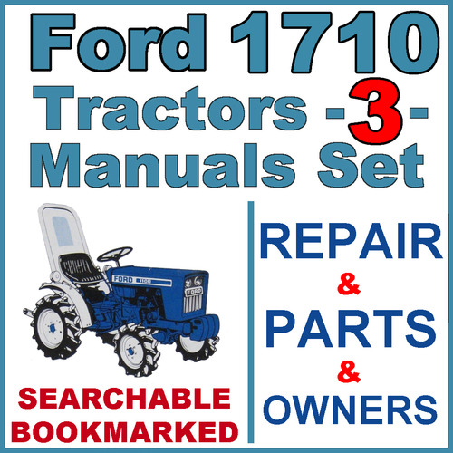 ford  tractor service parts operator manual