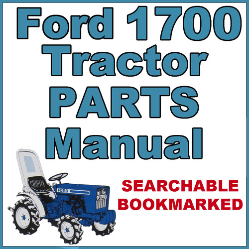 ford 1700 tractor parts diagram ford 3930 tractor parts diagram ford 1700 compact tractor illustrated parts list manual ...