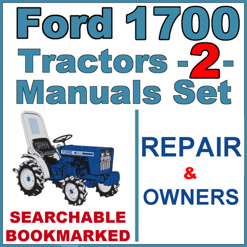 ford 1700 tractor parts diagram ford 1700 tractor service repair & operator manual -2 ...