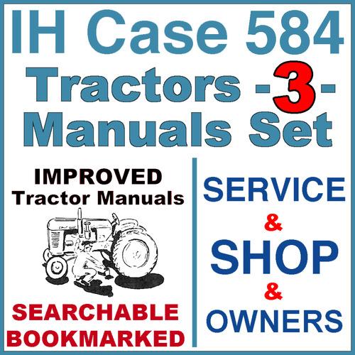 Ih international case 584 tractor service shop operator manual 3 pay for ih international case 584 tractor service shop operator manual 3 fandeluxe Images