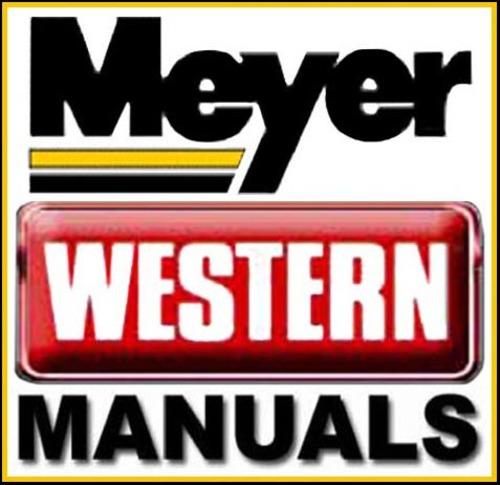 Western Snow Plow Manual : Diamond meyer western unimount snow plow snowplow repair