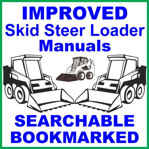 Case 1840 Skid Steer Loader Illustrated Parts List Manual Catalog -...