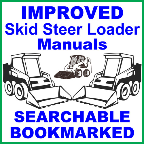 New Holland LS160 & LS170 Skid Steer Repair Service Manual - IMPROVED ...