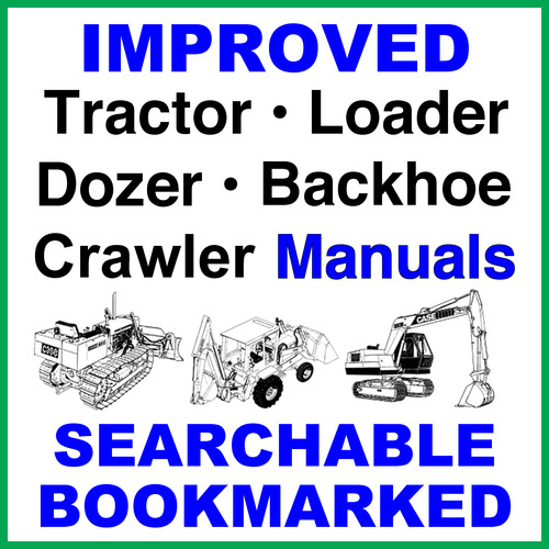 Case 850d  855d Crawler Dozer Loader Service Repair Manual
