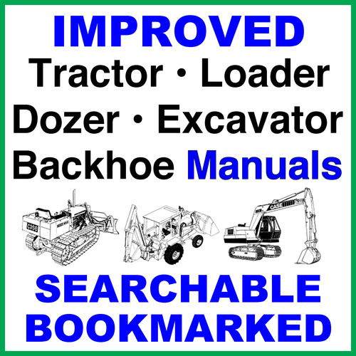 Pay for Collection of 2 files - Case CX290B Crawler Excavator Service Repair Manual & Operators Instruction Manual - IMPROVED - DOWNLOAD