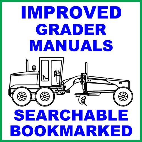 Pay for Case 845, 865 & 885 Grader FACTORY Service Workshop Manual - IMPROVED - DOWNLOAD
