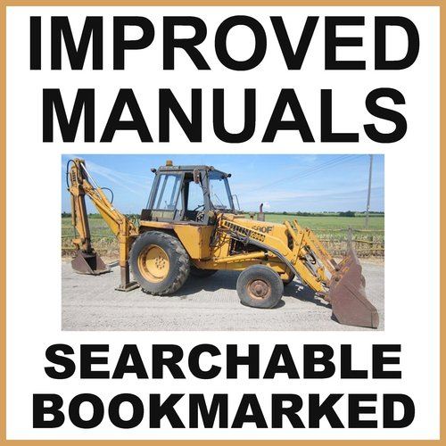 Pay for Collection of 2 files - Case 580F CK Loader Backhoe Operators Manual & Parts Catalog Manuals - IMPROVED - DOWNLOAD