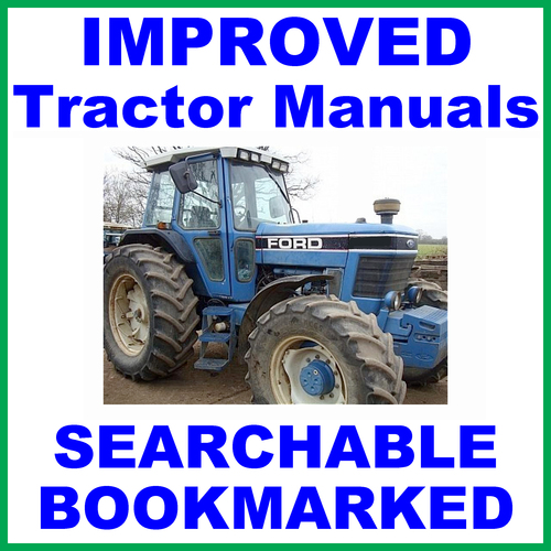 Ford New Holland >> Collection Of 2 Files Ford New Holland 8630 Tractor Service Repair Manual Operators Owner Instruction Manual Improved Download