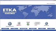 Thumbnail ETKA 7.5 Audi Skoda Seat Volkswagen part parts catalog 2016