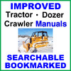 Thumbnail Collection of 2 files - Case 1150E 1155E Dozer Crawler Service Repair Manual & Operators Instruction Manual - IMPROVED - DOWNLOAD