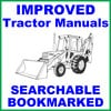 Thumbnail Ford 550 & 555 Loader Backhoe Tractor Service Repair Manual - IMPROVED - SEARCHABLE - DOWNLOAD