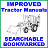 Thumbnail Ford 550 Tractor Loader Backhoe Factory Operators Owner Manual - IMPROVED - DOWNLOAD