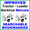 Thumbnail Collection of 2 files - Case 580N, 580SN, 580SN-WT, 590SN TLB Repair Service Manual & Operators Manual - DOWNLOAD