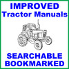 Thumbnail Collection of 2 files - IH International Case 884 Tractor FACTORY Repair Service Manual & Operator Manual - IMPROVED - DOWNLOAD