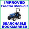 Thumbnail New Holland Boomer 40 50 Compact Tractor Illustrated Parts Manual Catalog - IMPROVED -DOWNLOAD