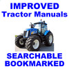 Thumbnail New Holland TG210 TG230 TG255 TG285 Tractors Service Repair Manual - IMPROVED - DOWNLOAD
