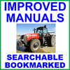 Thumbnail Case IH MX210 MX230 MX255 MX285 Magnum Tractor Factory Service Workshop Manual - IMPROVED - DOWNLOAD