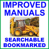 Thumbnail Collection of 4 files - Case 580 Construction King 1966-1971 Tractor TLB Factory Repair Service Manual & Operators Manual & Parts Manuals - IMPROVED - DOWNLOAD