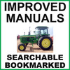 Thumbnail Collection of 3 files - John Deere 4230 Tractor Repair Service Manual & Operators Manual & Parts Catalog - IMPROVED - DOWNLOAD