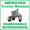 Thumbnail Collection of 2 files - Allis Chalmers 5020 Repair Service Manual & Illustrated Parts Catalog - IMPROVED - DOWNLOAD