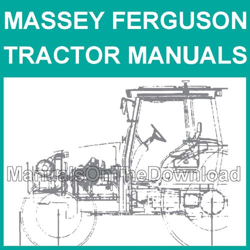 5400 Series 5425 5435 5445 5455 5460 5465 5470 Tractor Service Repair ...